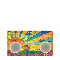 Limited Edition Peter Max iSongBook AM/FM Alarm Clock Radio