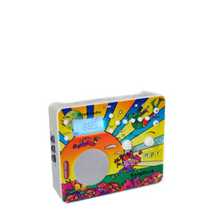 Limited Edition Peter Max SongBook AM/FM Alarm Clock Radio