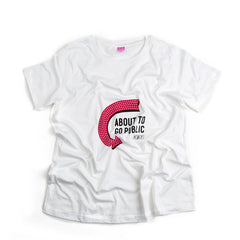 'About to Go Public' Maternity Tee