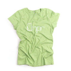 Women's Retro 70s Logo T-Shirt:  Green Pea