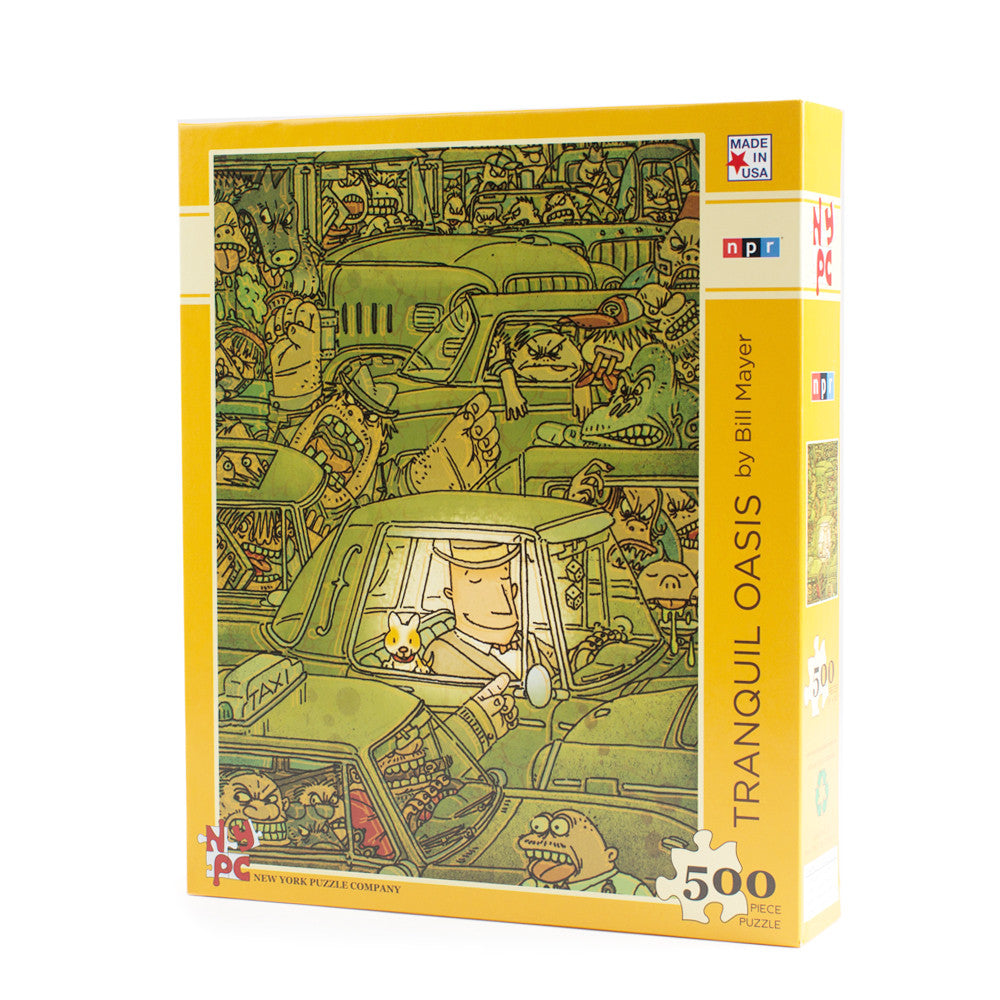 Tranquil Oasis 500 Pc. Jigsaw Puzzle