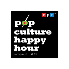 Pop Culture Happy Hour Podcast Tile Sticker