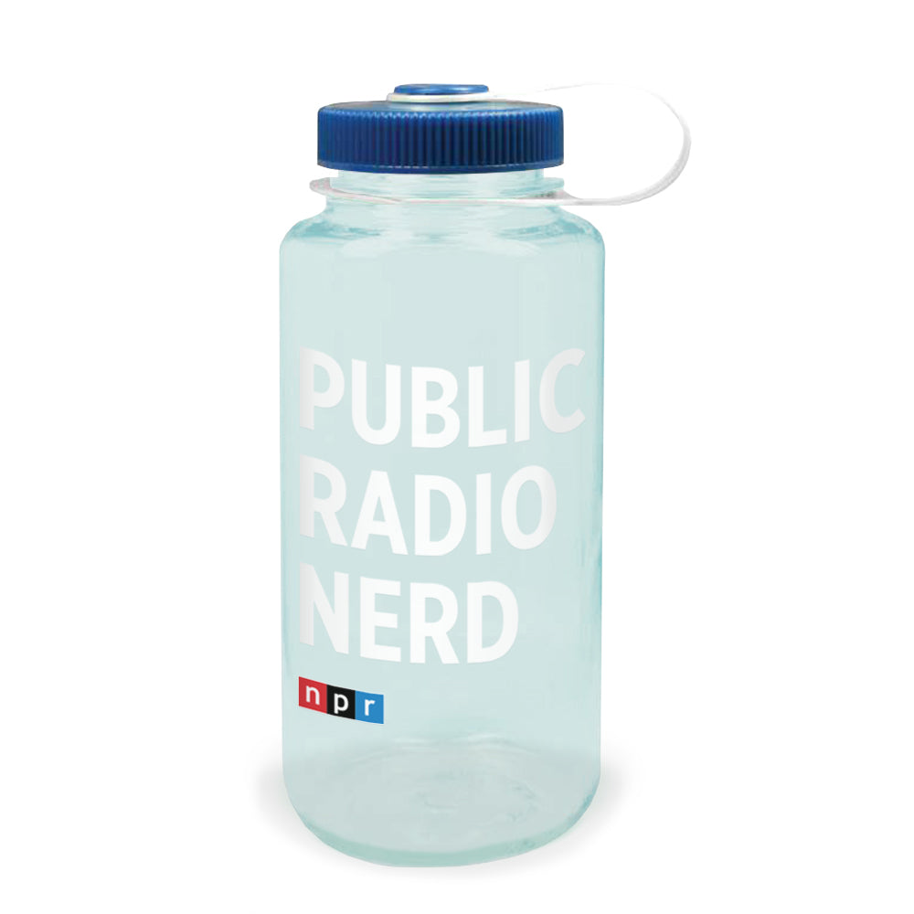 Public Radio Nerd Nalgene Bottle  32 oz. – NPR Shop 58f766b1f1db