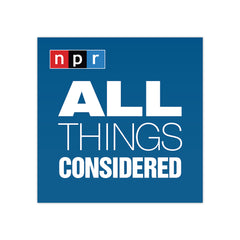 All Things Considered Podcast Tile Sticker