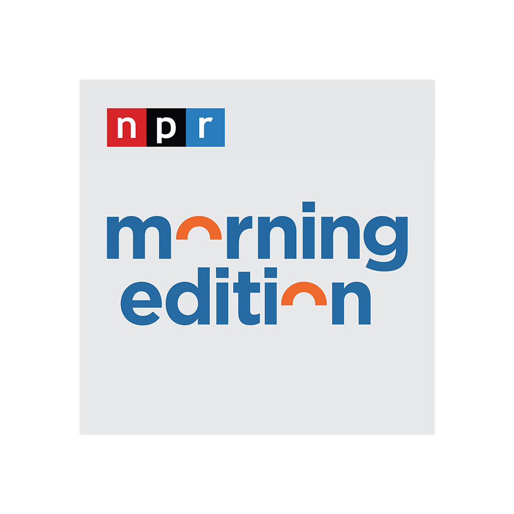 Morning Edition Podcast Tile Sticker