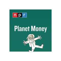 Planet Money Podcast Tile Sticker