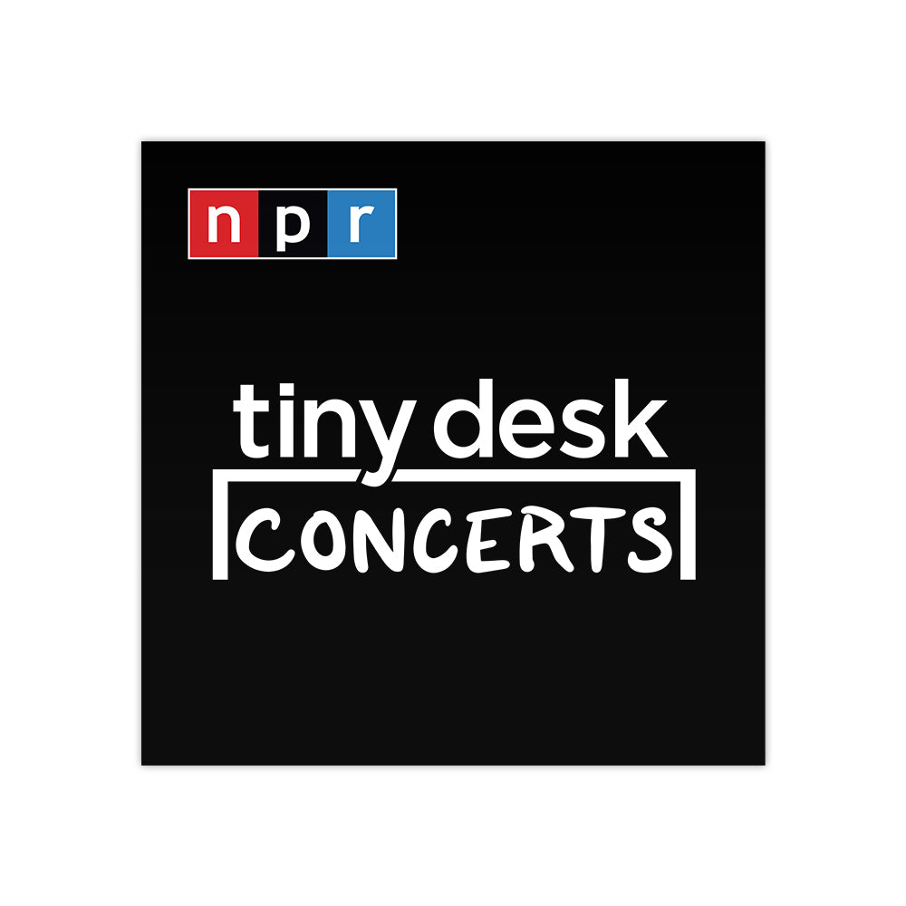 Tiny Desk Podcast Tile Sticker