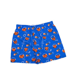 Podcats Flannel Boxer Shorts