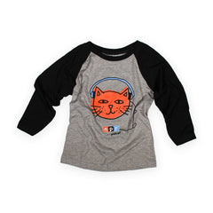 Podcats Youth 3/4 Sleeve T-shirt