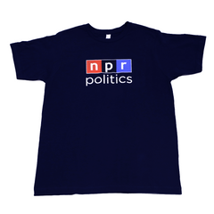 NPR Politics T-Shirt: Dark Navy