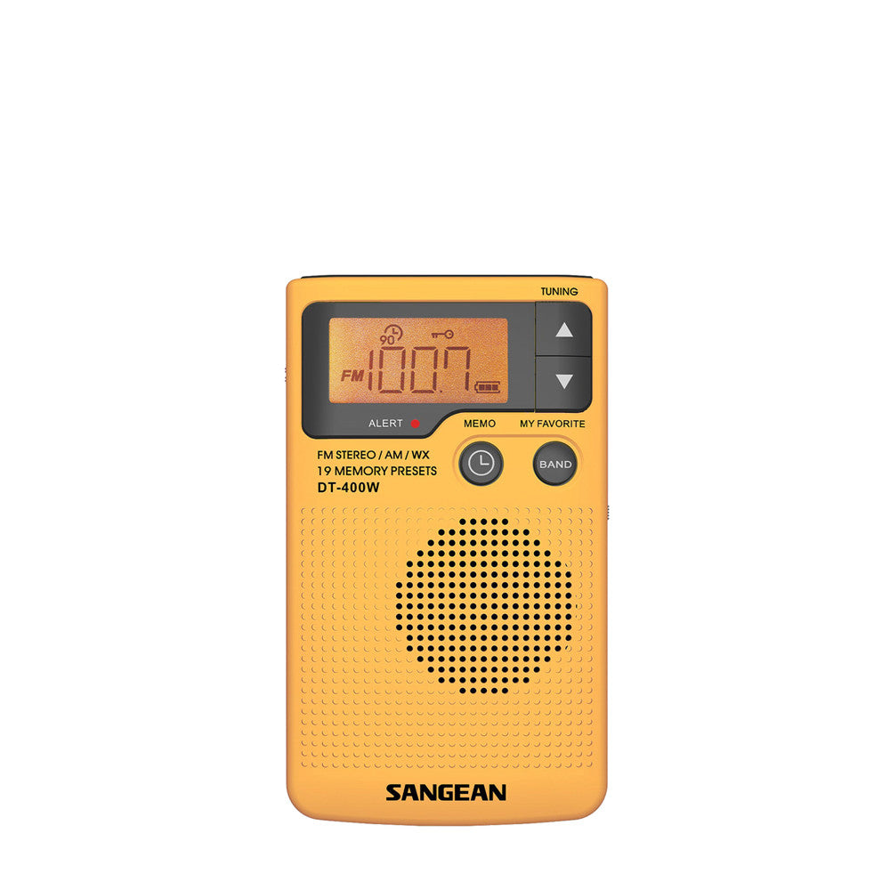 Sangean DT-400W AM/FM/Weather Band Pocket Receiver