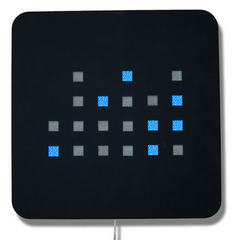 XLD Binary Wall Clock