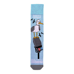 All Things Considered Socks: Robert Seagull