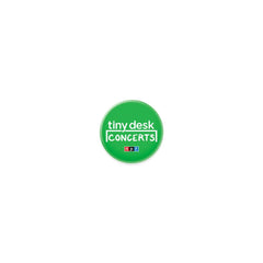Tiny Desk Button: Green