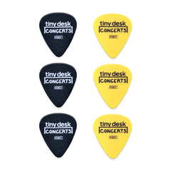 Tiny Desk Guitar Picks: Set of 6