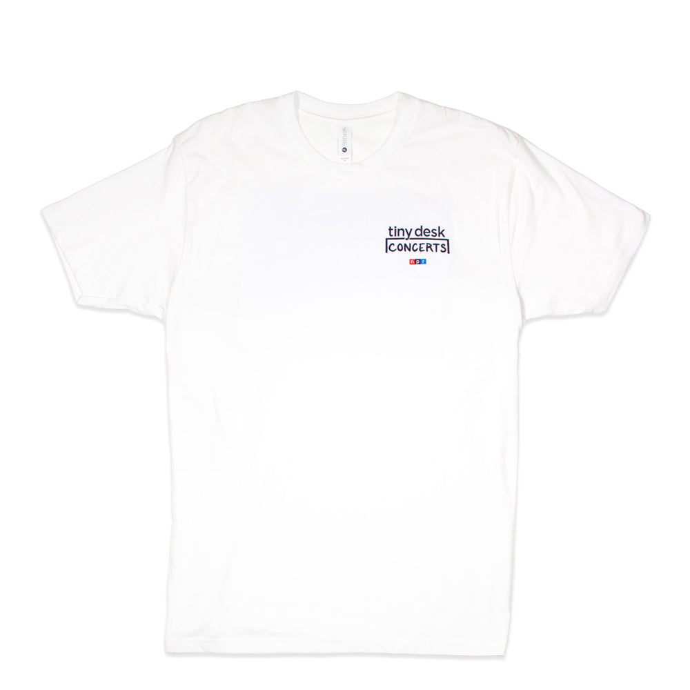 Tiny Desk T-Shirt: White