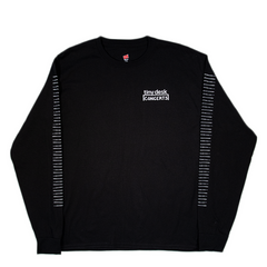 Tiny Desk Long Sleeve T-Shirt: Black
