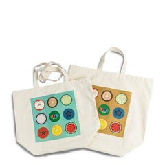NPR Organic Cotton Grocery Tote Set