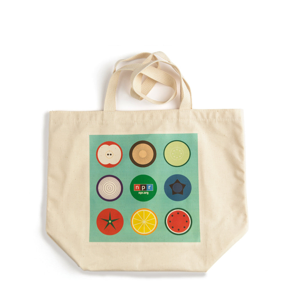 NPR Organic Cotton Grocery Tote: Medium