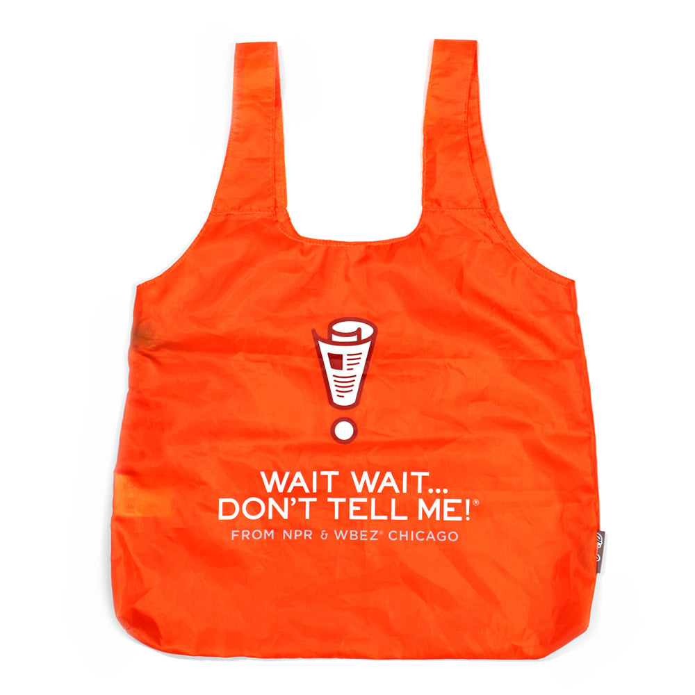 Wait Wait...Don't Tell Me!  Reusable Tote