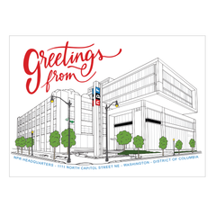 Greetings From NPR Postcard