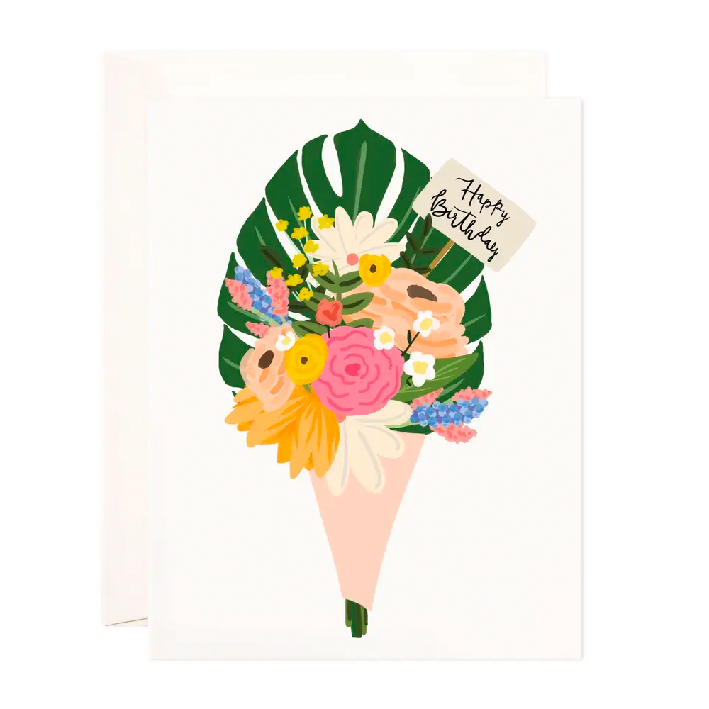 Birthday Bouquet Greeting Card
