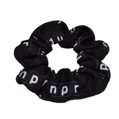 NPR Outline Logo Scrunchie