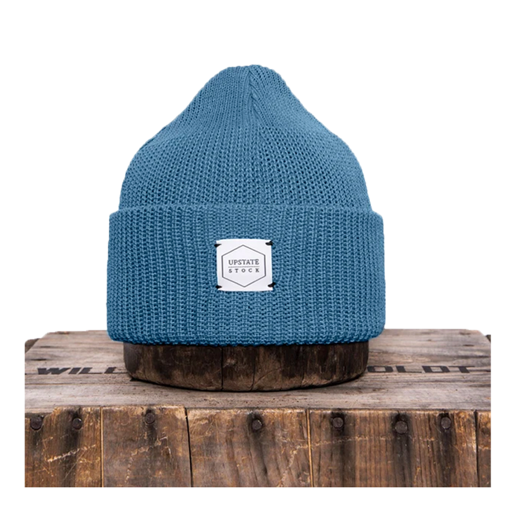 Cerulean Recycled Cotton Watchcap