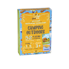Camping Outdoors Go Fish! Playing Cards