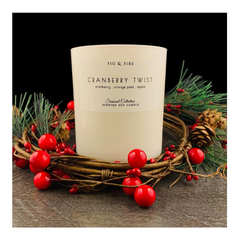 Cranberry Twist Candle