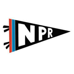 NPR Flag Sticker