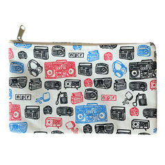 Surround Sound Zippered Pouch
