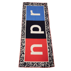 NPR Logo Beach Towel