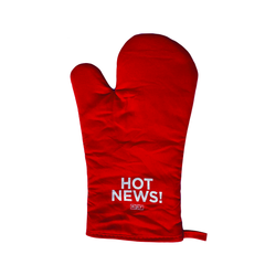 NPR Hot News Oven Mitt
