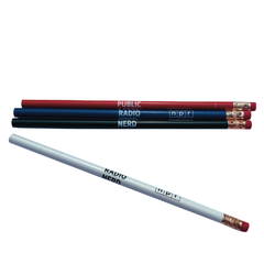 Public Radio Nerd Pencil Set