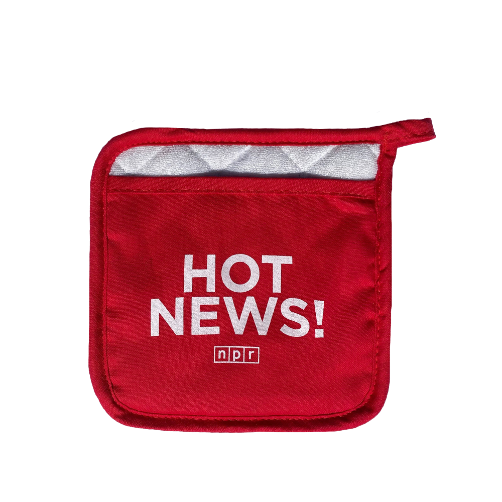 NPR Hot News Pot Holder