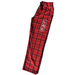 Red Flannel Outline Logo Pajama Pants