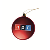 Public Radio Nerd Ornament
