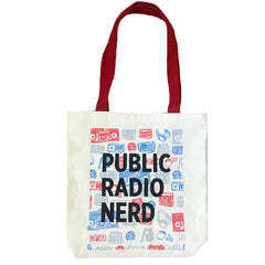 Public Radio Nerd Tote: Surround Sound