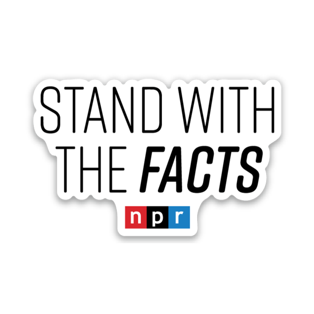 I Stand With The Facts Sticker