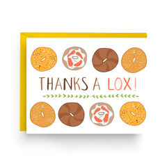 Thanks A Lox Card- Boxed Set of 6