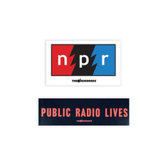 The Hundreds x NPR Sticker Set
