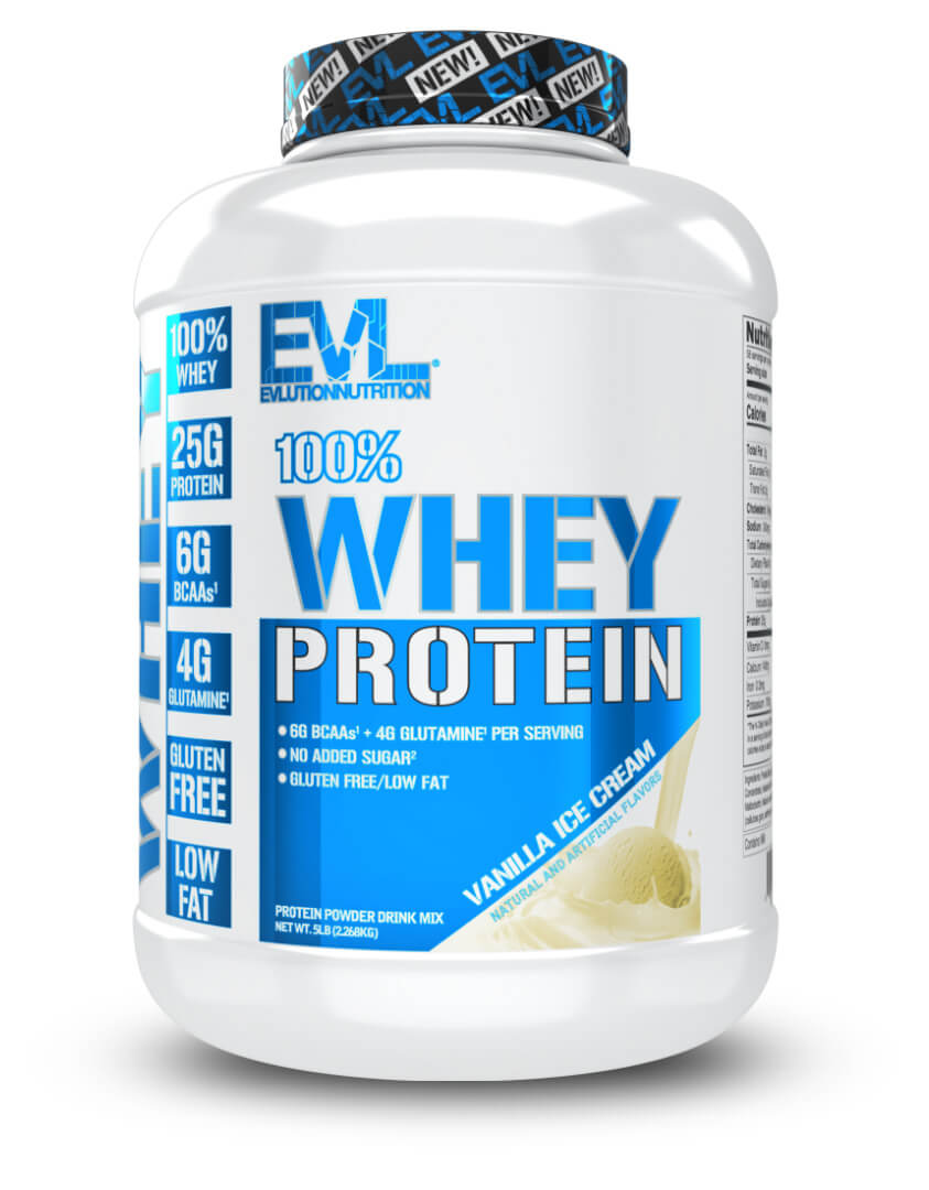 EVL 100% WHEY PROTEIN ISOLATE | GYM SUPPLEMENTS U.S