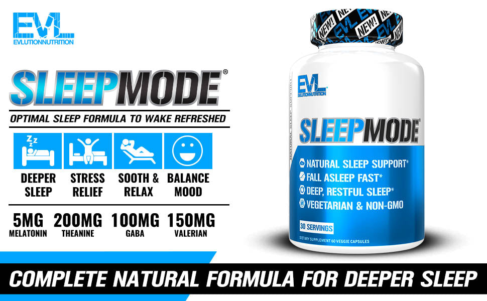 EVL SLEEPMODE | GYM SUPPLEMENTS U.S