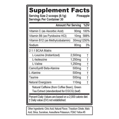 BCAA Energy (30 Servings)