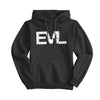 Black EVL Hoodie With White Logo