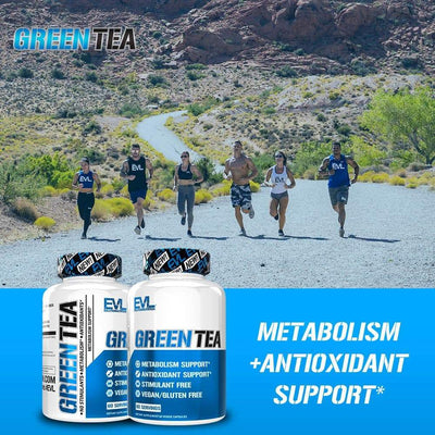 Green Tea Leaf Extract (Capsules) - EVLUTION NUTRITION