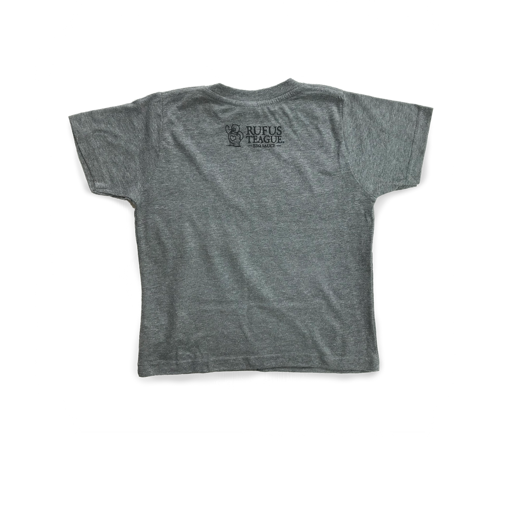BARBECUTE T-SHIRT - GREY - Size 4T