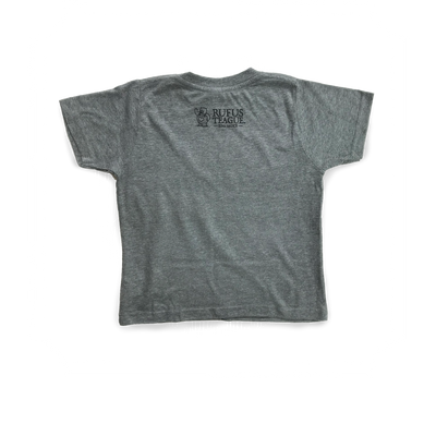 BARBECUTE T-SHIRT - GREY - Size 4T - WHOLESALE