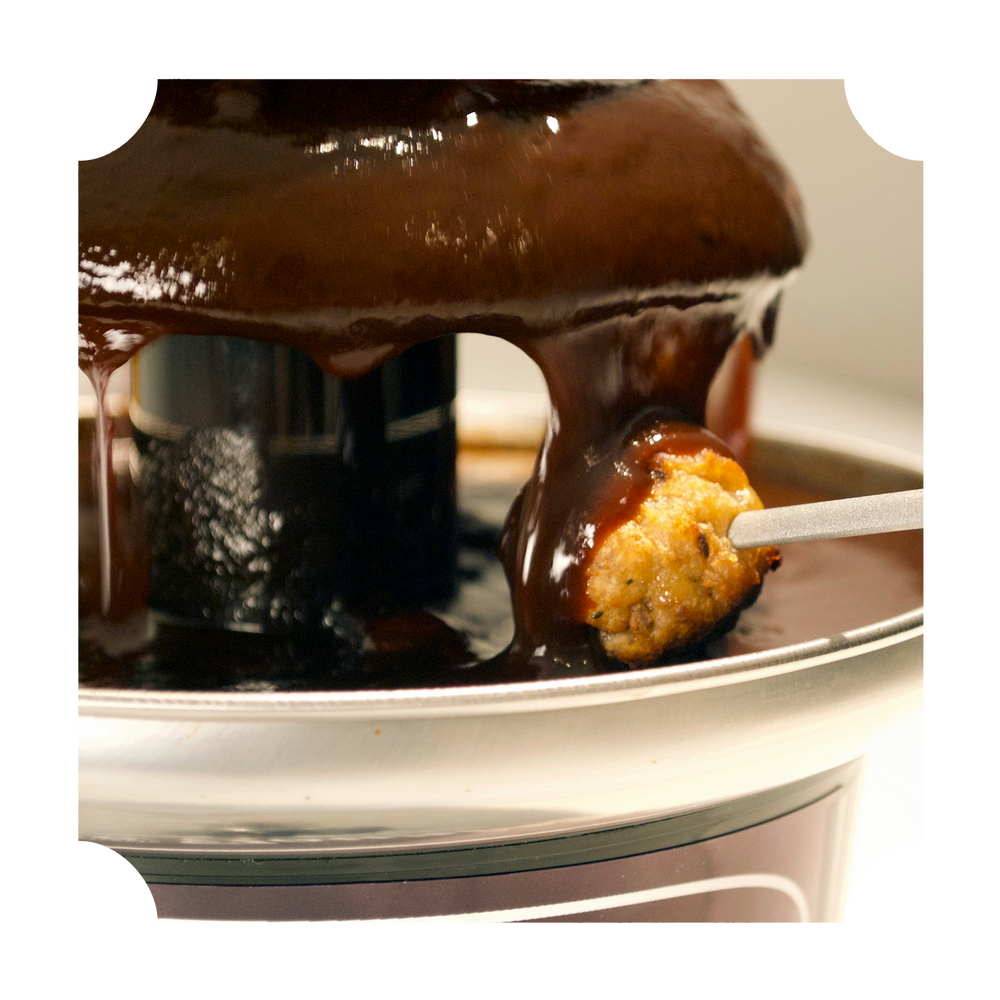 BBQ SAUCE FOUNTAIN - WHOLESALE - CASE OF 4